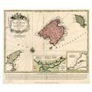 2639   Seutter, Matthias: Carte des Iles de Maiorque, Minorque et d´Yvice. 1741
