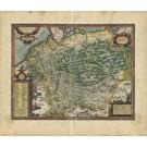 2658   Ortelius, Abraham: Germaniae Veteris Typus 1587
