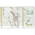 2671   Cook, James : De Rivier de Theems en Mercurius Baai in Nieuw Zeeland 1795