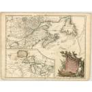 2673   Vaugondy, Robert de: Partie de l´Amerique Septentrionale 1757