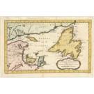 2678   Bellin, Jaques Nicolas: Carte du Golphe de St. Laurent et Pays Voisins. 1760