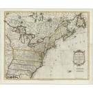 2680   Kitchin, Thomas: Map of the United States in North America: with the British, French and Spanish Dominions adjoining, according to the Treaty of 1783. 1783
