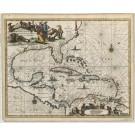 2682   Montanus, Arnoldus: Insulae Americanae in Oceano Septentrionali, cum Terris adiacentibus. 1671