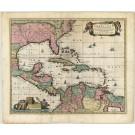 2683   Visscher, Nicolaus: Insulae Americanae in Oceano Septentrionali ac Regiones Adiacentes 1680