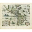 2693   Hondius, Jodocus Jr.: America noviter delineata 1631