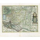 2701   Blaeu, Joan / Mejer, Johannes: Praefecturae Trittow, Reinbeeck, Tremsbüttel et Steinhorst.  1662