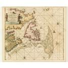 2707   Keulen, Johannes van: Pas-kaart vande Zee-Kusten van Terra Nova... 1695