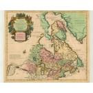 2714   Covens & Mortier / Delisles, Guillaume : Carte du Canada ou de la Nouvelle France et des Découvertes qui y ont été faites. 1730