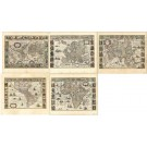 2715   Blaeu, Willem: Nova Totius Terrarum Orbis Geographia ac Hydrographia Tabula. 1634