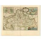 2717   Blaeu, Joan / Mejer, Johannes: Dithmarsiae Pars Septentrionalis. 1662