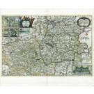 2721   Blaeu, Joan / Mejer, Johannes: Pars Meridionalis Wagriae cum partes Stormariae. 1662