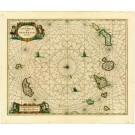 2726   Janssonius, Johannes: Insulae Canariae olim Fortunata Dictae 1650