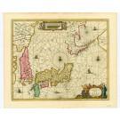 2727   Schenk, Petrus und Valk, Gerard: Nova et Accurata Japoniae Terrae Esonis  1694