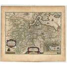 2743   Blaeu, Joan / Mejer, Johannes: Praefectura Flensburgensis absque Nordgoeßherde. 1662