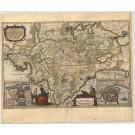 2747   Blaeu, Joan / Mejer, Johannes : Praefectura Gottorpiensis pars Australis. 1662