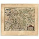 2752   Blaeu, Joan / Mejer, Johannes : Pars Occidentalis Praefecturae Hadersleben cum adjacentibus Ripen et Lohmchloster Praefecturis. 1662