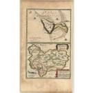 2755   Blaeu, Joan / Mejer, Johannes: Helgelandia A.° 1649. Helgeladt in annis Christi 800, 1300 & 1649   1662