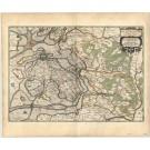 2758   Blaeu, Joan / Mejer, Johannes: Praefectura Husumensis Lunderbergh Nordstrand et Nordgoesherde. 1663