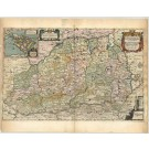 2760   Blaeu, Joan / Mejer, Johannes: Rendsburgum Chiloneum et Bordesholma, sive Holsatia Propria. 1672