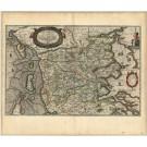 2773   Blaeu, Joan / Mejer, Johannes: Ducatus Sleswici Pars Borealis.  1662