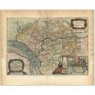 2775   Blaeu, Joan / Mejer, Johannes: Praefectura Steinborgh cum Kremper, et Wilstermarsch.  1662