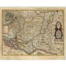 2781   Blaeu, Joan / Mejer, Johannes: Praefecturae Trittow, Reinbeeck, Tremsbüttel et Steinhorst.  1662
