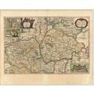 2785   Blaeu, Joan / Mejer, Johannes: Pars Meridionalis Wagriae cum partes Stormariae in qua Episcopatus Lubecensis, Plona Principatus, et Praefectura Segebergensis. 1662