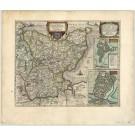 2787   Mejer, Johannes: Landtcarte von dem Lande Wageren, welches ist das Ostertheil von Holstein, ao 1651.  1662