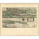 2792   Blaeu, Willem: Celeberrimi Fluvii Albis nova delineatio Auctore Christiano Mollero   dat.1628