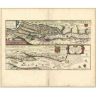 2793   Blaeu, Willem: Celeberrimi Fluvii Albis nova delineatio Auctore Christiano Mollero    dat.1628