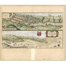 2794   Blaeu, Willem: Celeberrimi Fluvii Albis nova delineatio Auctore Christiano Mollero   dat.1628