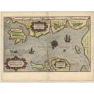 2805   Waghenaer, Lucas Janszoon: Caerte van de zee Custe va Mekelenborch  1586
