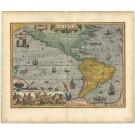 2818   Hondius, Jodocus: America  1620