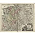 2821   Seutter, Matthias: Circulus Westfalicus in suas Provincias et Ditiones  1730