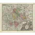 2825   Seutter, Matthias: Episcopatus Hildesiensis cum adjacentibus Provinciis ac Statibus. 1725
