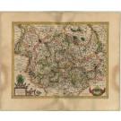 2829   Mercator, Gerard: Braunswyck & Meydburg cum ceteris adiacentibus  1609