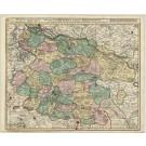 2834   Visscher, Nicolaus: Ducatus Luneburgici et Comitatus Dannebergensis. 1740