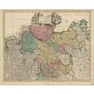 2837   Danckerts, Justus: AccuratissimaCirculi Saxoniae Tabula quae est pars Septentrionalis Germaniae. 1690