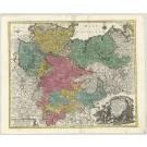 2845   Lotter, Tobias Conrad: Saxoniae Inferioris Circulus, exhibens Ducatus Brunswic.  1761