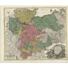 2846   Lotter, Tobias Conrad: Saxoniae Inferioris Circulus, exhibens Ducatus Brunswic. 1761