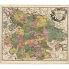2852   Wit, Frederick de: Ducatus Luneburgici et Dannebergensis Comitatus  1698