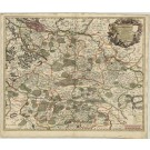2853   Wit, Frederick de: Ducatus Luneburgici et Dannebergensis Comitatus 1698