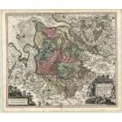 2860   Seutter, Matthias: Nova et Accurata Descriptio Ducatus Bremae et Ferdae cum maxima parte finitimi Stormariensis et Comitatus Oldenburgici, Itemque Fluminum Albis et Visurgis  1741