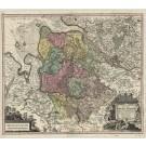 2861   Seutter, Matthias: Nova et Accurata Descriptio Ducatus Bremae et Ferdae cum maxima parte finitimi Stormariensis et Comitatus Oldenburgici, Itemque Fluminum Albis et Visurgis  1741