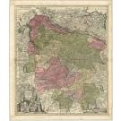 2865   Seutter, Matthias: Electoratus Hanoverani cum ditionibus et praefecturis suis nova accurata delincurata. 1731