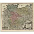 2869   Seutter, Matthias: Saxoniae Inferioris Circulus juxta Principatus et Status suos  1741