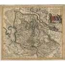 2875   Danckerts, Cornelis: Ducatus Bremae et Ferdae Maximaeque partis Fluminis Visurgis Descriptio  1696