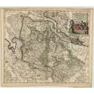 2876   Danckerts, Cornelis: Ducatus Bremae et Ferdae Maximaeque partis Fluminis Visurgis Descriptio  1696