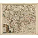 2878  Schenk, Petrus:  Ducatus Brunsvicensis in eiusdem tres Principatus ... 1707
