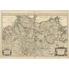 2886   Sanson, Nicolas bei Jaillot, Alexis-Hubert: Le Cercle de la Basse Saxe subdivisé en tout les Etats et Principautés ..... 1681